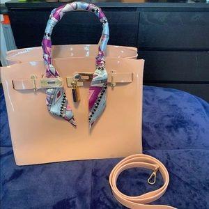 Handbags - Birkin style handbag nude/pink
